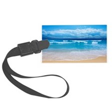 Tropical Wave Luggage Tag