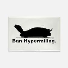 Ban Hypermiling - Rectangle Magnet