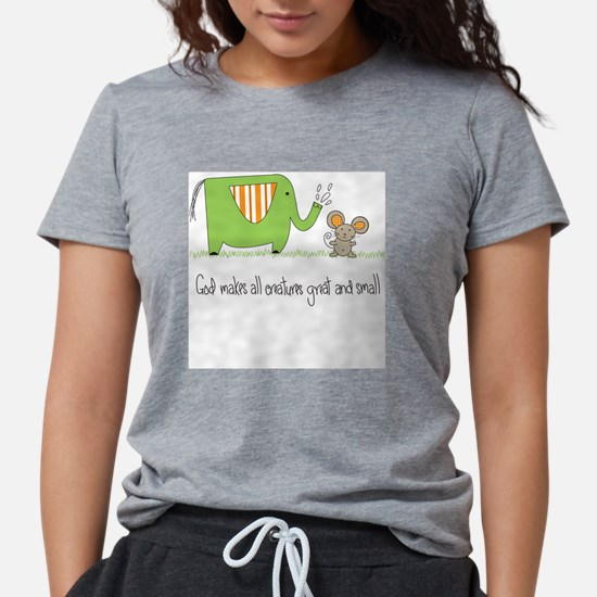 God Makes All Creatures Tee T-Shirt