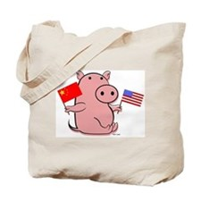 CHINA AND USA Tote Bag