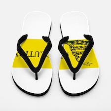Cute Anarchist Flip Flops