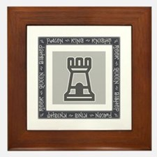 Chessman Showcase - The Rook Framed Tile