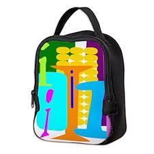 Initial Design (I) Neoprene Lunch Bag