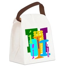 Initial Design (I) Canvas Lunch Bag