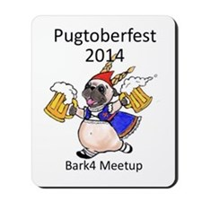 pugtoberfest2014 Mousepad