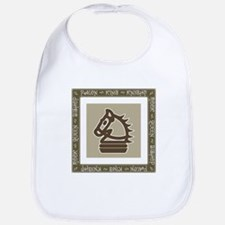 Chessman Showcase - The Knight Bib