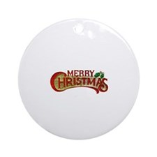 Fancy Christmas Ornament (Round)