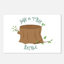 Save A Tree Postcards (Package of 8)