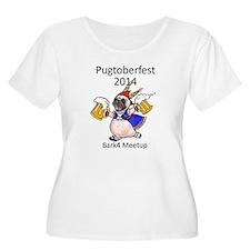 pugtoberfest2014 Plus Size T-Shirt
