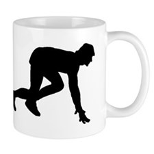 Runner Crouched Mugs