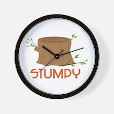Stumpy Wall Clock