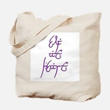 Elf At Heart 5 Tote Bag