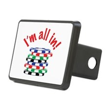 Im All In! Hitch Cover
