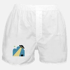 Space UFO Boxer Shorts