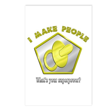 I make People Postcards (Package of 8)