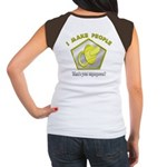 I make People (OnBack) Women's Cap Sleeve T-Shirt