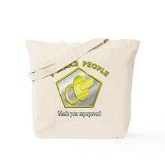 I make People (2-sided) Tote/Hospital Bag