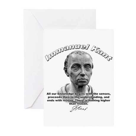 Immanuel Kant 01 Greeting Cards (Pk of 10)