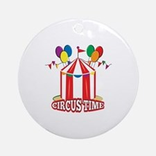Circus Time Ornament (Round)