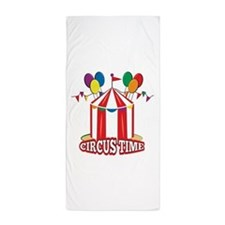 Circus Time Beach Towel