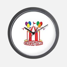 Circus Time Wall Clock
