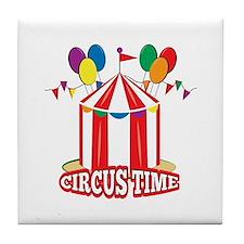 Circus Time Tile Coaster