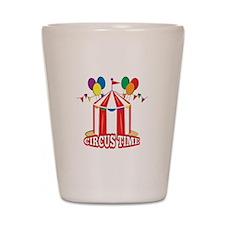 Circus Time Shot Glass