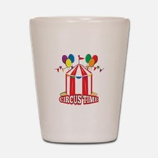 Circus Time Shot Glass