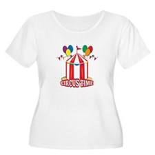Circus Time Plus Size T-Shirt