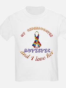 Autistic Grandaughter T-Shirt
