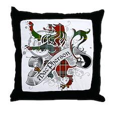 MacPherson Tartan Lion Throw Pillow