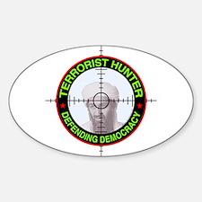Terrorist Hunter Oval Decal