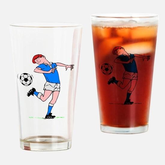 Soccer Kid Drinking Glass
