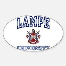 LAMPE University Oval Decal