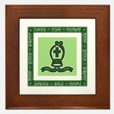 Chessman Showcase - The Bishop Framed Tile
