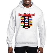 Flags of Deutschland Hoodie