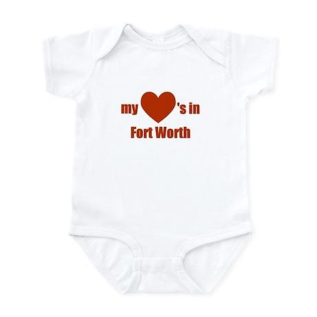 Fort Worth Infant Bodysuit