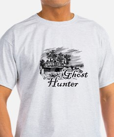 Ghost Hunter Cemetery T-Shirt