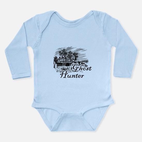 Ghost Hunter Cemetery Long Sleeve Infant Bodysuit