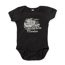 Ghost Hunter Cemetery Baby Bodysuit
