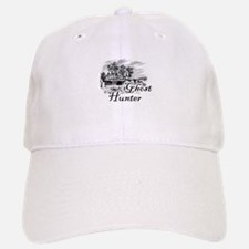 Ghost Hunter Cemetery Baseball Baseball Cap