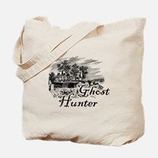 Ghost Hunter Cemetery Tote Bag