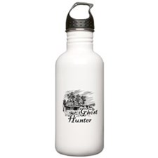 Ghost Hunter Cemetery Water Bottle