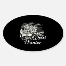 Ghost Hunter Cemetery Decal