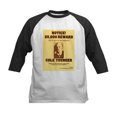 Wanted Cole Younger Tee