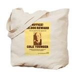Wanted Cole Younger Tote Bag