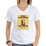 Wanted Cole Younger Women's V-Neck T-Shirt
