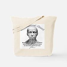 Immanuel Kant 01 Tote Bag