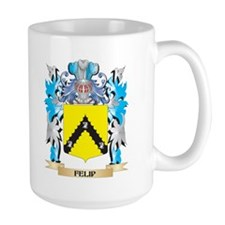 Felip Coat of Arms - Family Crest Mugs