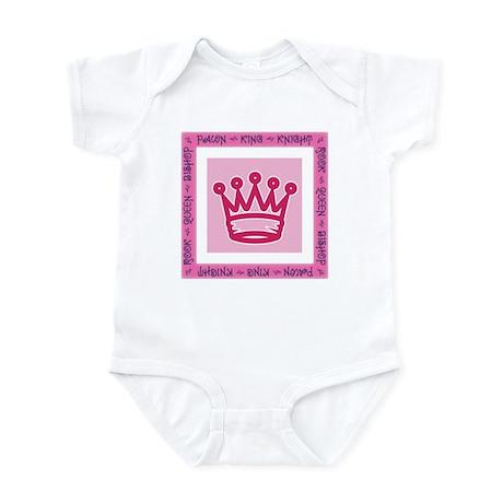 Chessman Showcase - The Queen Infant Bodysuit